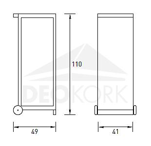 12119E/_17/_M1415KU43S mit Schrauben silber 5x112 57,1mm SilverLine Spurverbreiterung 30mm 15mm